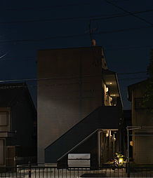 愛知県名古屋市港区川西通3丁目の賃貸アパートの外観