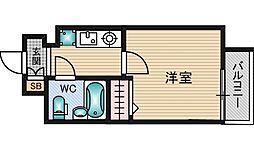 エスリード新大阪第7[10階]の間取り