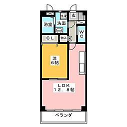 グランドソレイユ[2階]の間取り