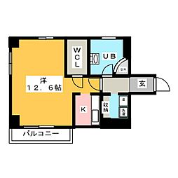 Stad MaisonII[1階]の間取り