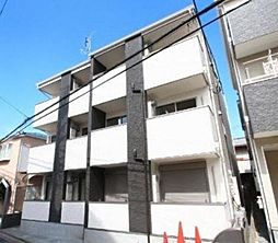 埼玉県朝霞市三原3丁目の賃貸アパートの外観