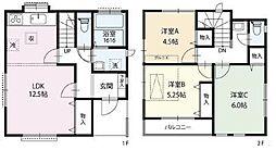 [一戸建] 東京都西東京市ひばりが丘北3丁目 の賃貸【/】の間取り