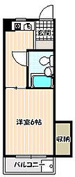 シャングリラ21[1階]の間取り