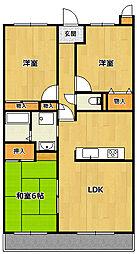 PAL-TORISHIMA[3階]の間取り