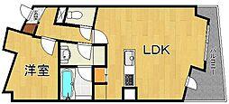 武庫之荘GEMELLI[5階]の間取り