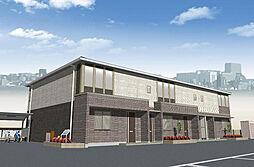 中冨居賃貸アパート新築工事[101号室]の外観