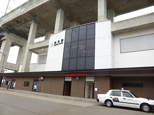 【駅】IR森本駅まで1056m