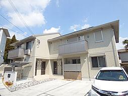 兵庫県神戸市長田区雲雀ヶ丘3丁目の賃貸アパートの外観