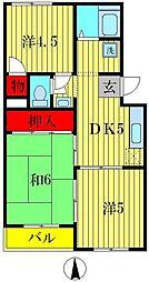 マービーマンション[3階]の間取り