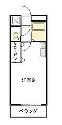 西丸ノ内トレゾア[2階]の間取り