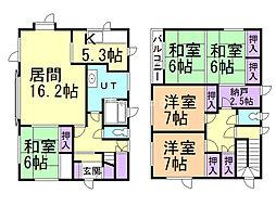 上田邸  貸家 1階5SLDKの間取り