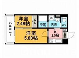 グランフォーレ 箱崎 ステーション プラザ[9階]の間取り