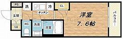 プランドール江戸堀レジデンス[10階]の間取り