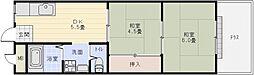 上ノ太子ハイツ[1階]の間取り