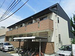 大阪府寝屋川市日之出町の賃貸アパートの外観