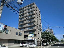 北海道札幌市東区北二十条東15丁目の賃貸マンションの外観