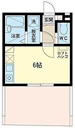 アートヒルズ北新宿[204号室]の間取り