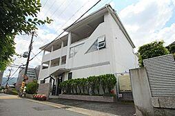 京都府京都市山科区日ノ岡ホッパラ町の賃貸マンションの外観