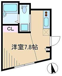 サンガーデン駒込[1階]の間取り