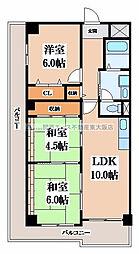エリスハイム田中[3階]の間取り