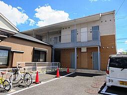 大阪府泉佐野市長滝の賃貸アパートの外観