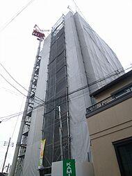 クローバーグランツ阿倍野[8階]の外観