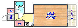 兵庫県神戸市灘区篠原南町2丁目の賃貸マンションの間取り