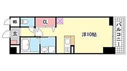 プラチナコート[8階]の間取り