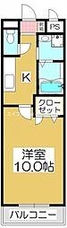 香川県高松市六条町の賃貸マンションの間取り