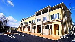 埼玉県熊谷市下奈良の賃貸アパートの外観