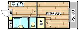 TFB大住[2階]の間取り
