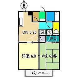 ウイング神田D棟[2階]の間取り