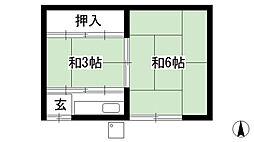 鞍馬口駅 3.5万円