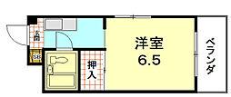 ぱんぷきんハウス[303号室]の間取り