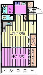 メゾンプチパレ[2階]の間取り