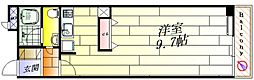 グランドライフ北之坊[4階]の間取り