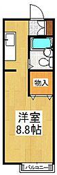 セシールICHIKAWA[1階]の間取り