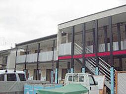 京都府京都市山科区安朱東海道町の賃貸アパートの外観