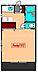 間取り,1K,面積24.84m2,賃料6.6万円,JR中央本線 三鷹駅 徒歩18分,JR中央本線 武蔵境駅 徒歩20分,東京都武蔵野市関前2丁目