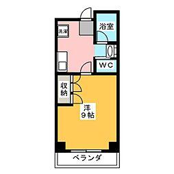 小坂マンション[2階]の間取り