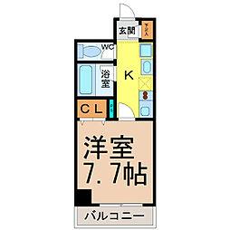 Belle Vivre新栄(ベルヴィブレ新栄)[3階]の間取り