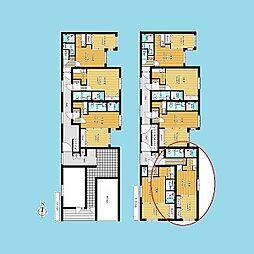 札幌市営南北線 北18条駅 徒歩2分の賃貸マンション 3階1DKの間取り