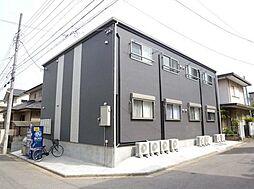 千葉県習志野市実籾6丁目の賃貸アパートの外観