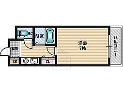 大阪府吹田市垂水町2丁目の賃貸マンションの間取り