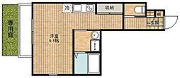 C&D apartment[101号室]の間取り