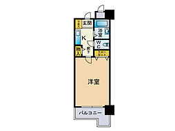 ダイナコートエスタディオ桜坂[6階]の間取り