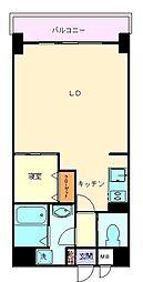 ヴィラハイネス舞鶴[9階]の間取り
