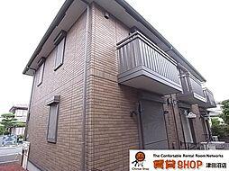 千葉県習志野市香澄2丁目の賃貸アパートの外観