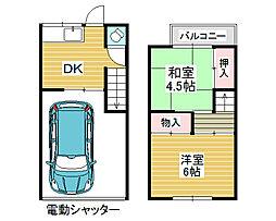[一戸建] 大阪府羽曳野市高鷲10丁目 の賃貸【/】の間取り