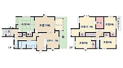 [一戸建] 愛知県名古屋市緑区細口1丁目 の賃貸【/】の間取り